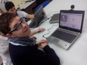 clase extraescolar de programación con Scratch. Colegio Aristos.