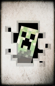 Imagen de un Creeper de Minecraft.