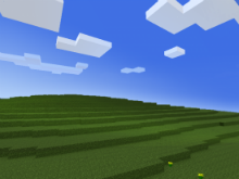 Fondo de escritorio Windows de Minecraft.