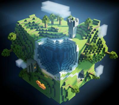 Mundo Minecraft.