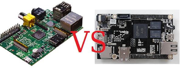 Competidores de Raspberry Pi