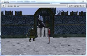 clase extraescolar de programación, programación de videojuegos 3D con Alice