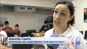 campamentos tecnológicos de verano de ConMasFuturo.com en Televisión Española