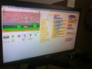 Clase extraescolar de programación con Scratch