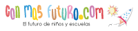 ConMasFuturo Robótica educativa para niños Logo