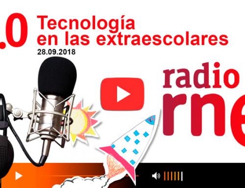 Entrevista en Radio Nacional Radio 5: extraescolares tecnológicas ConMasFuturo Roblox