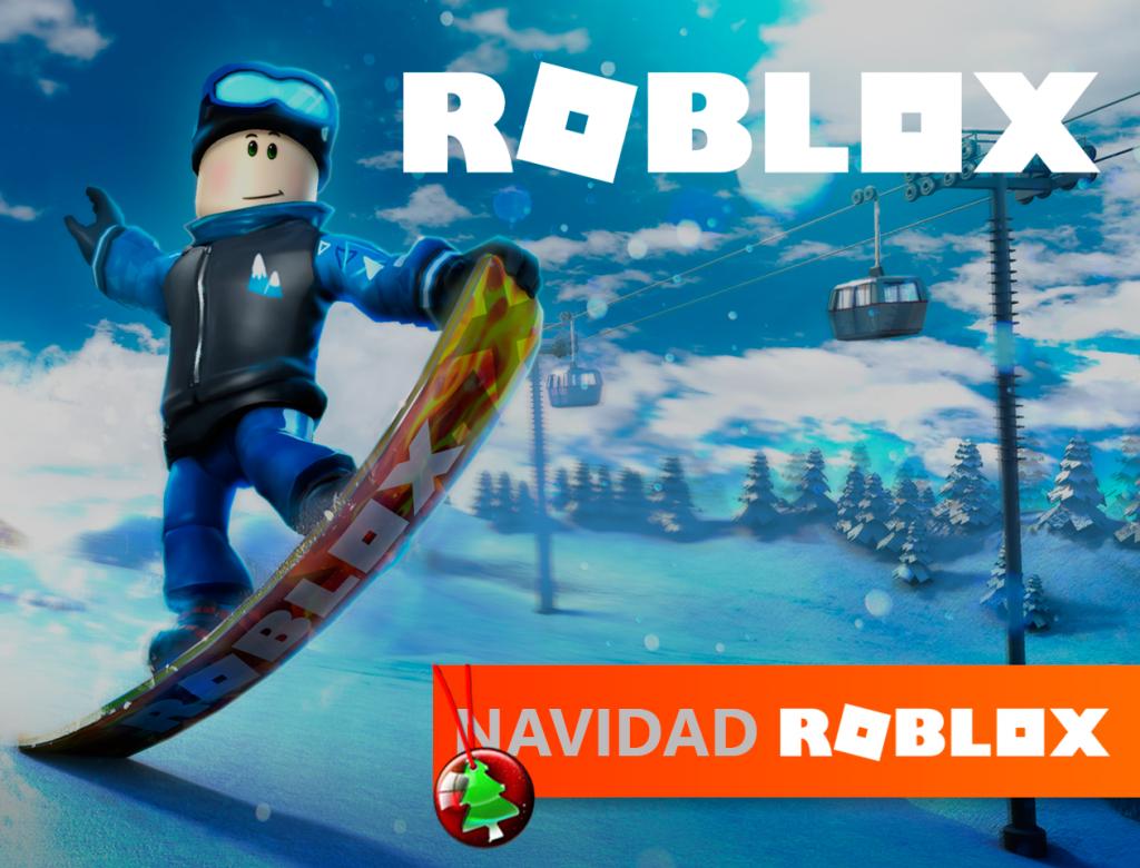 campamento de Navidad Roblox
