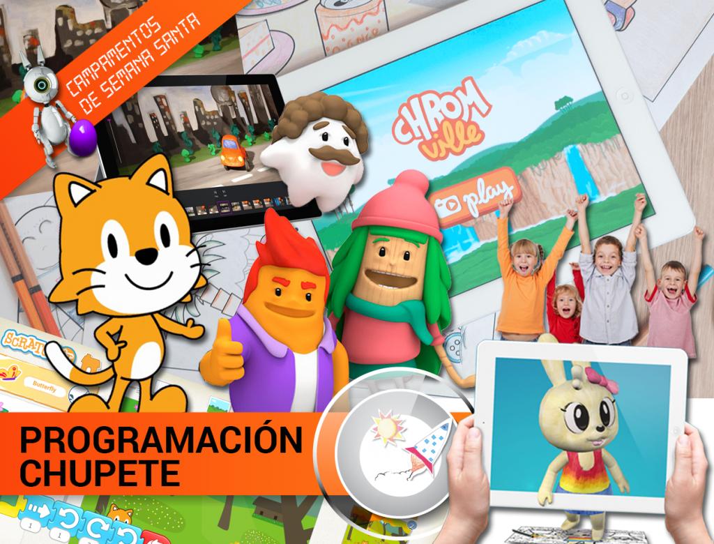 CAMPAMENTO DE SEMANA SANTA 2019: PROGRAMACIÓN CHUPETE