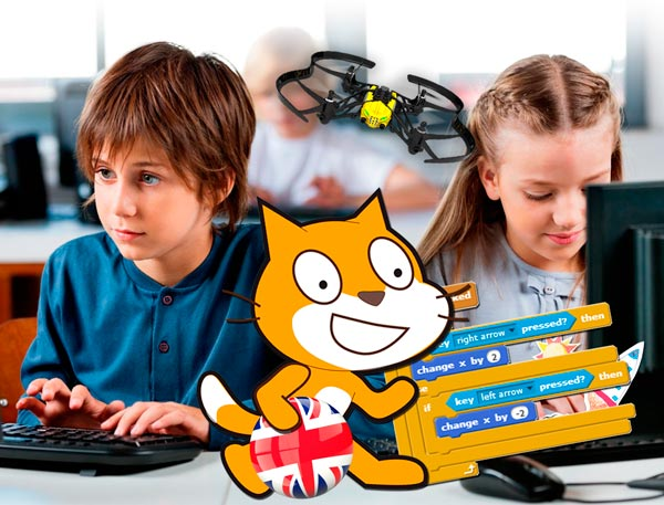 VIDEO GAMES PROGRAMMING WITH SCRATCH ENGLISH COURSE - CONMASFUTURO