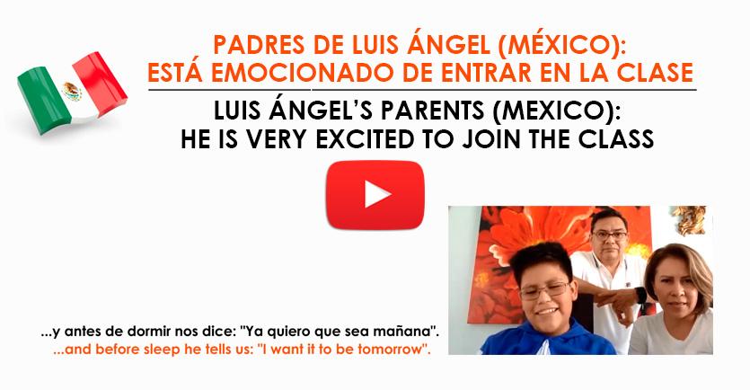 Testimonio padres de Luis Ángel (México)