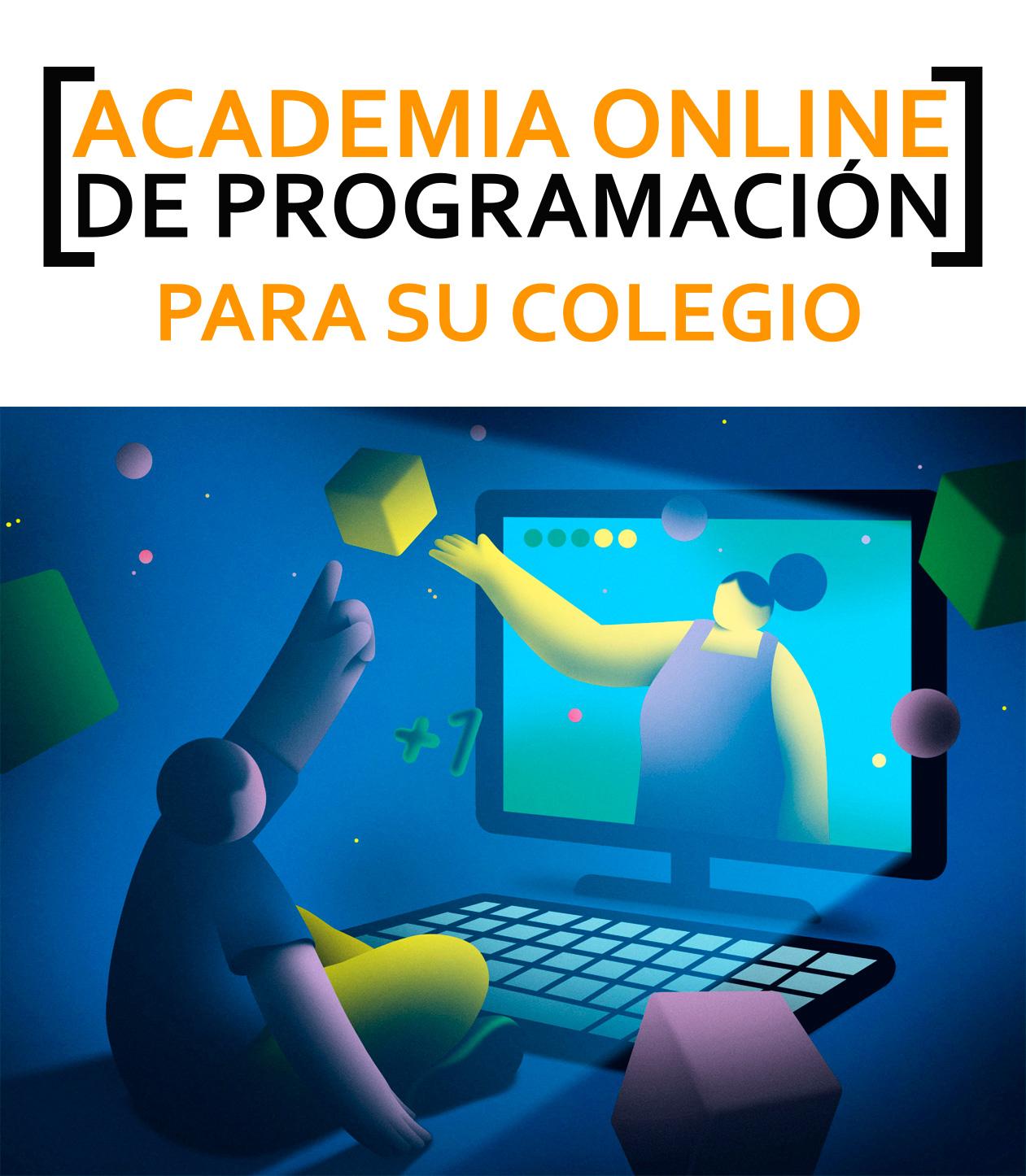 ACADEMIA ONLINE DE PROGRAMACIÓN PARA SU COLEGIO
