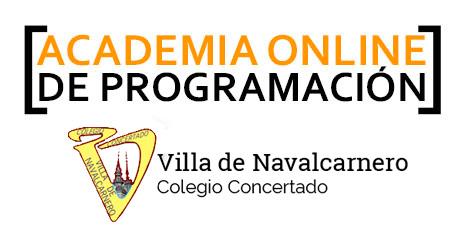 Academia Online de Programación Colegio Villa de Navalcarnero