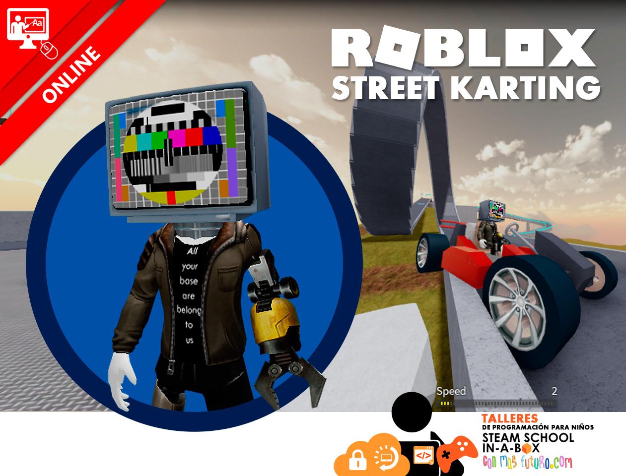 ROBLOX STREET KARTING