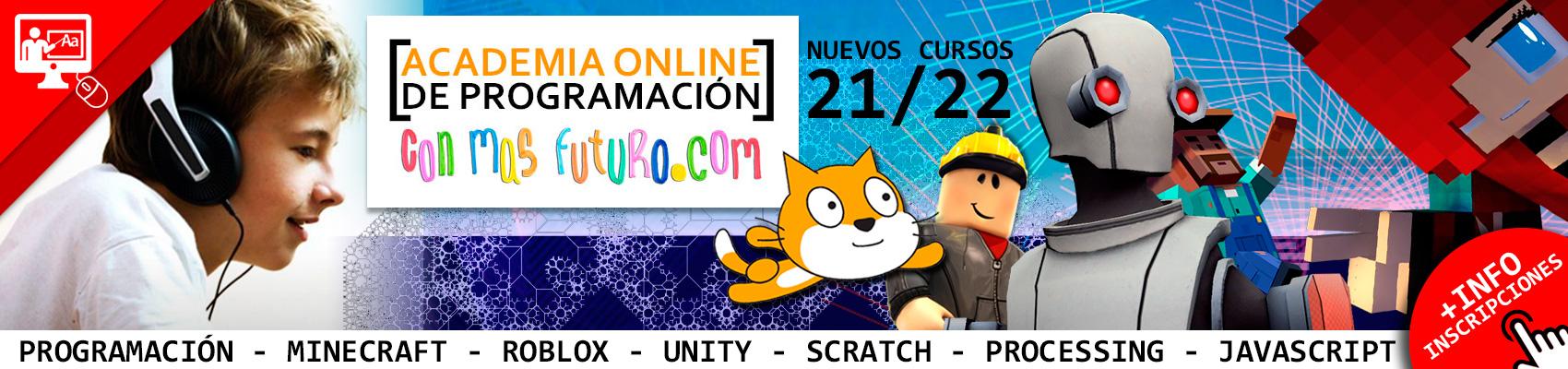 Academia Online de Programación Conmafuturo.com 21-22